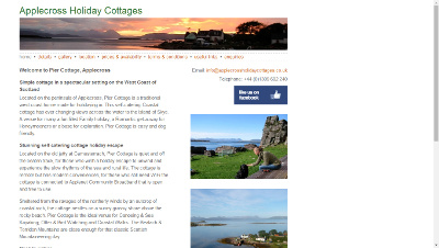 Applecross Holiday Cottages