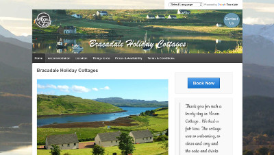 Bracadale Holiday Cottages self-catering