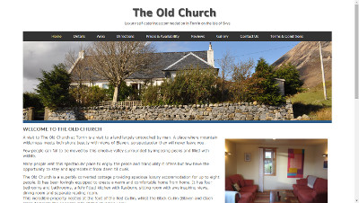 Old Church Torrin self-catering